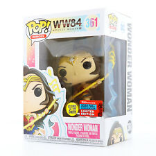 Funko POP! DC Heroes: WW84 - Wonder Woman (GITD) NYCC 2020 Shared Exclusive