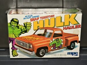 1977 MPC The Incredible Hulk Hauler 1/32 Model Kit Vintage SEALED Marvel misb
