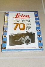 Leica The First 70 Years HOVE COLLECTORS BOOKS ,wie neu, noch original verpackt