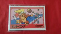 Nintendo Famicom Classic Mini Post Cards Limited JAPAN