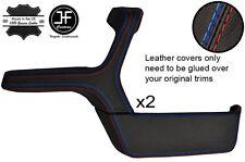 M manija de la puerta de costura 2X Apoyabrazos & Bolsillo Cuero Cubiertas Para BMW E30 Berlina