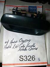 99- 04 Honda Odyssey Rear Door Lift Gate Outside Handle METALIC GREEN OEM#S326+