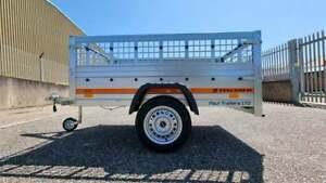 Car Trailer General Purpose 750 kg Mesh Sides 2,0m x 1,06m Brand New