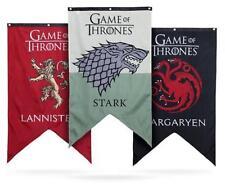 Game of Thrones Jon Snow Stark Banner Tapestry Family House Flag Hanging Drape