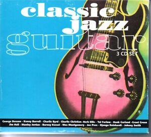 Classic Jazz Guitar 3CD set/Sequel Jazz Burrell/Christian/Tal/Ellis/51 tracks