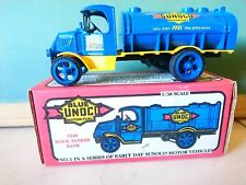 ERTL #9796 DIECAST METAL LOCKING BANK 1926 MACK TANKER TRUCK BLUE SUNOCO
