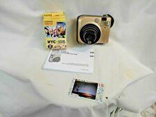 FUJIFILM instax mini 70 Camera Bundle GOLD + 3-10 Pack's of Instant Film