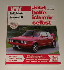 Reparaturanleitung VW Golf I 1 Cabrio + Scirocco II, ab Baujahr 1979