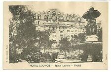 HOTEL LOUVOIS (SQUARE LOUVOIS) PARIS