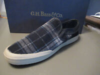 G.H. Bass & Co. Men's Hopewell Canvas Slip-On Sneakers