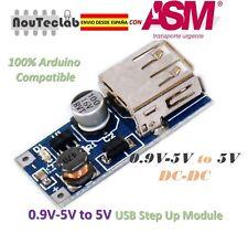 0.9V-5V to 5V DC-DC USB Voltage Converter Step Up Booster Power Supply Adapter