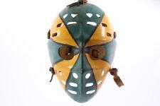 Old Vintage Painted Goalie Hockey Jason Mask