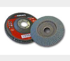 Abracs ABFZ115B040 Zirconium Sanding Abrasive Flap Disc 25 Pieces 115mm 40 Gritt