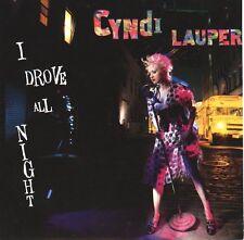 "CYNDI LAUPER I Drove All Night  PICTURE SLEEVE 7"" 45 record NEW + juke box strip"