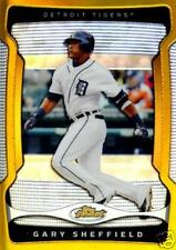GARY SHEFFIELD GOLD REFRACTOR #01/50  DETROIT TIGERS #1