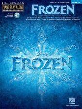 Frozen Sheet Music Piano Play-Along Book Audio Online NEW 000126480