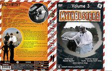 Mythbusters:Vol 3-2003/2013-TV Series USA-DVD