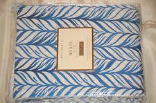 Pottery Barn Braid Duvet Cover King Kick Blue retail $129 - last 1