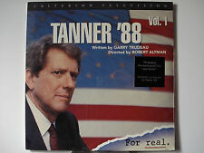 Tanner '88 Vol. 1 - 1988 Criterion TV Laser Disc NEW Pamela Reed - Cynthia Nixon