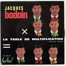 "BODOIN Jacques 45T 7"" SP TABLE MULTIPLICATION  F Reduit"