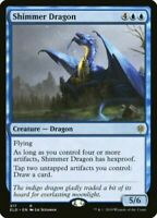 MTG Shimmer Dragon Throne of Eldraine RARE NM/M Magic the Gathering