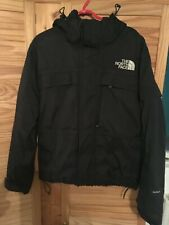 North Face Hyvent Mens Small Down Ice Bomber Jacket Black - Warm - Bargain M L