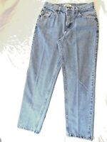 696dd67c WOMENS BLUE JEANS LEE RIDER BRAND SIZE 8 100 % COTTON LIGHT WASH ZI10