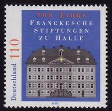 WEST GERMANY MNH STAMP SET DEUTSCHE BUNDESPOST FRANKE FOUNDATION 1998 SG 2867