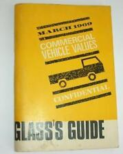 Old Glass'S GUIDE dei prezzi per i veicoli commerciali MARZO 1969.