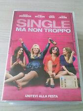SINGLE MA NON TROPPO (2016) FILM DVD ITALIANO PERFETTO SPED GRATIS SU + ACQUISTI