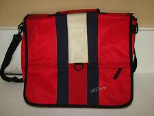 Tommy Hilfiger Crossbody Shoulder Bag Laptop Carry Red Messenger VTG