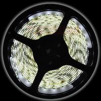Cool White 3528 / 5M 300 LED 60led/M SMD Flexible Strip Light IP65 Waterproof UK