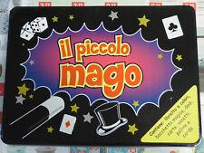 IL PICCOLO MAGO kit di magia GIOCO IN SCATOLA completo con libretto e istruzioni