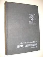 121. ostpreußische Infanterie-Division 1940-45 Wehrmacht Kurland Cholm Leningrad