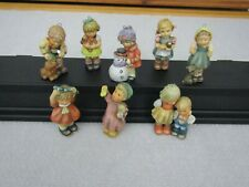 Kid Figures Goebel Berta Hummel Christmas Ornament Figurines Boy Girl