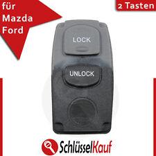 Mazda Ford Tastenfeld 2 Tasten Auto Fernbedienung Schlüssel Gehäuse Gummi Ersatz