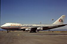 Original 35mm Colour Slide of American Airlines Boeing 747-123F N9675? in 1983