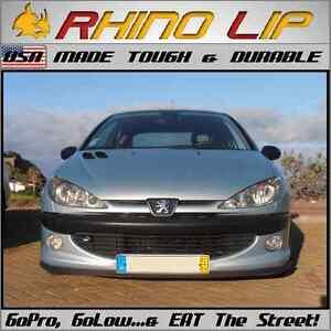 Peugeot 406 407 5008 508 604 605 607 Feline RhinoLip® Rubber Chin Lip Edge Trim