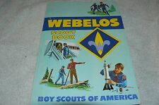 1984 -  - Webelos Scout Book  - Boy Scouts of America