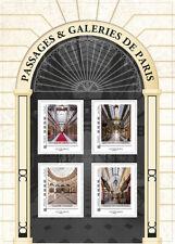 france 2019 Passages GRAND CERF Galeries COLBERT MADELEINE Paris ms 4v mnh s/adh