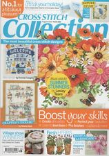 Cross Stitch Collection Magazine Issue 252 Sewing Room, Sampler, Flowers