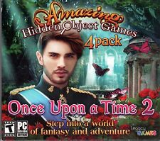 QUEEN'S QUEST TOWER OF DARKNESS Hidden Object 4 Pack ONCE UPON A TIME 2 PC NEW