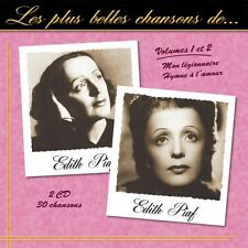 CD The best songs of Edith Piaf - Vol. 1 & 2 / IMPORT
