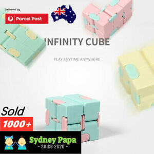 Fidget Toys Infinity Cube Sensory Autism Anxiety ADHD Stress Relief Toys