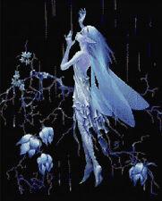 Rain Fairy Counted Cross Stitch Kit Fairies/Fantasy Free 1st class Recorded post