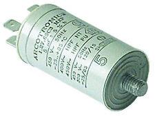 5uf µF Dishwasher Tumble Dryer Capacitor for Hotpoint Indesit Ariston Creda