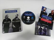 MIAMI VICE DVD STEELBOOK + EXTRAS ENGLISH DEUTSCH ITALIAN - GERMAN EDITION