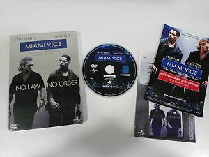 Miami Vice DVD Steelbook + Extras English Deutsch Italien - German Edition - Am