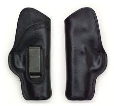 Turtlecreek Leather IWB Holster Colt-Type 1911 Officer Mod RH Pattern Fixed Clip