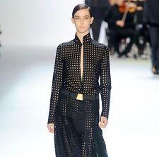 4 4,000 AKRIS Black Long Sleeve Dress,size 6 NWT